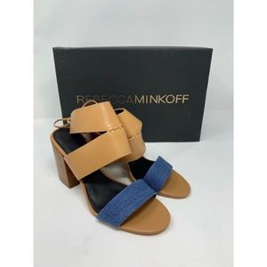 Rebecca Minkoff Block Lace Heels